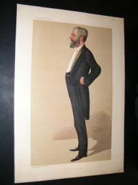 Vanity Fair Print 1890 Arthur Bower Forwood